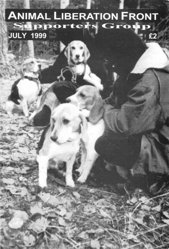 Animal Liberation Front Supporters Group (ALF SG)