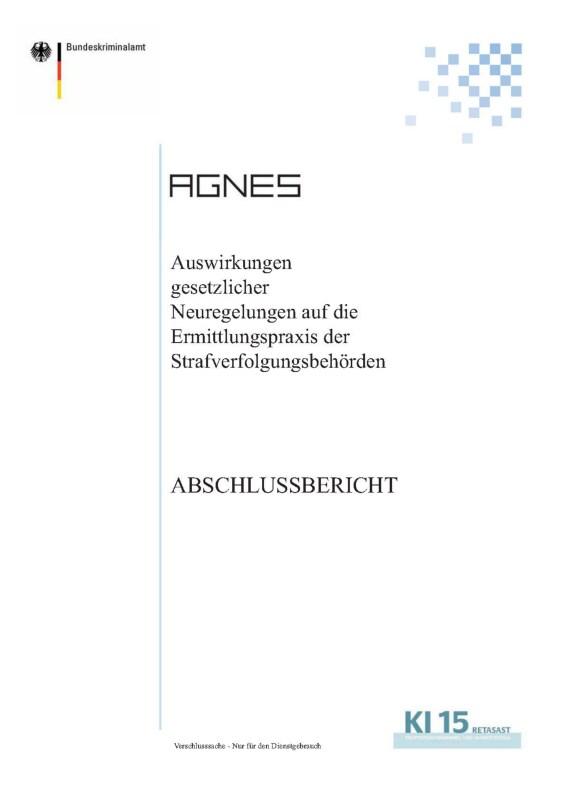 Bundeskriminalamt (intern): AGNES (2008)