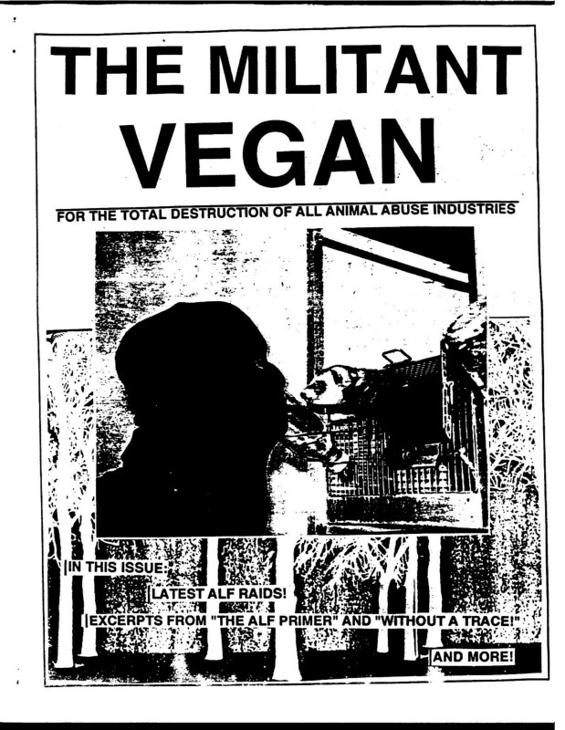 The Militant Vegan