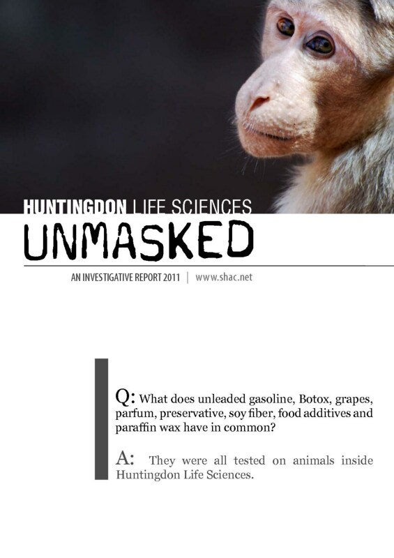 SHAC: Stop Huntingdon Animal Cruelty